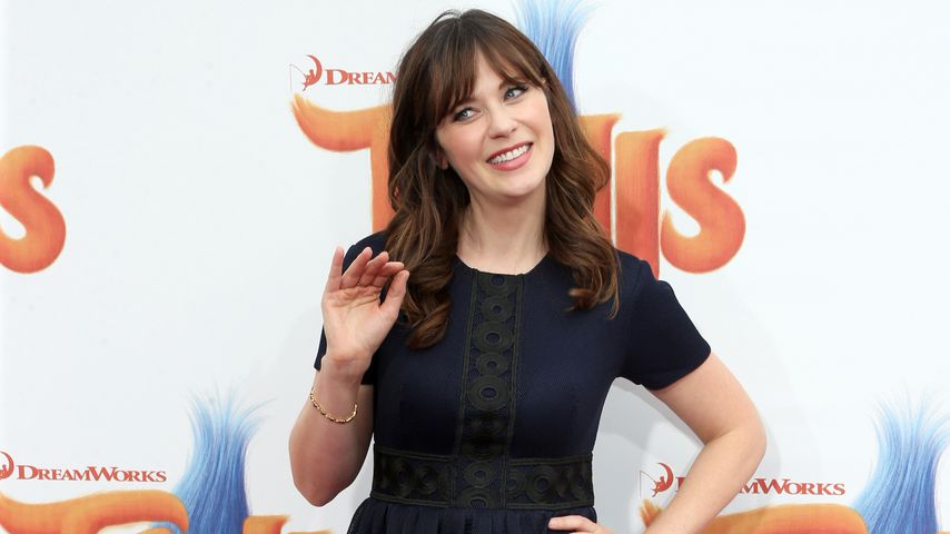 Zooey Deschanel in Westwood