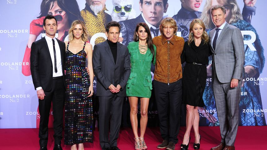 "Hollywood-Glanz: Heiße ""Zoolander""-Premiere in Berlin"