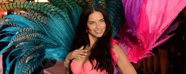 """Adriana Lima bei der """"Victoria's Secret""""-Show 2015"""