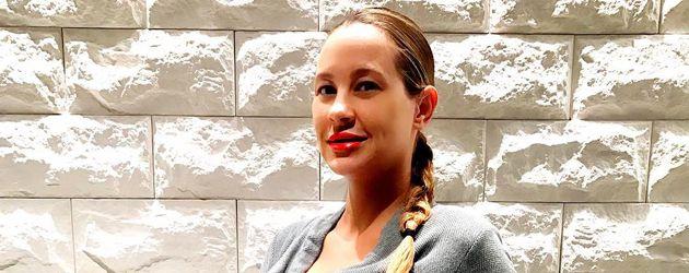 Alessandra Meyer-Wölden kurz vor der Geburt ihrer Zwillinge