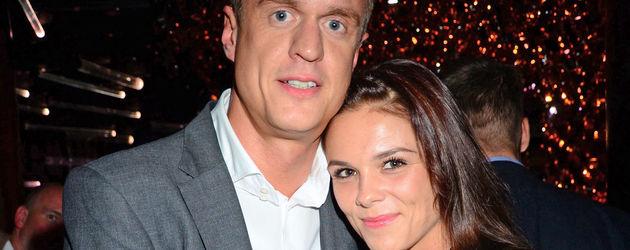 Alexander Posth und seine Liebste Angelina