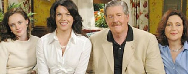 """Gilmore Girls""-Cast: Alexis Bledel, Lauren Graham, Edward Herrmann und Kelly Bishop (v.l.)"