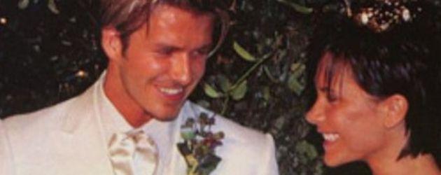 David Beckham, Victoria Beckham und Brooklyn Beckham