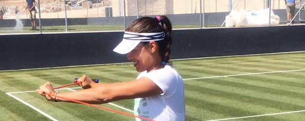 Ana Ivanovic beim Training