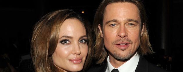 """Angelina Jolie und Brad Pitt bei den """"Producers Guild Awards 2012"""" in Beverly Hills"""
