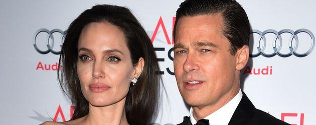 Angelina Jolie und Brad Pitt im November 2015 in Hollywood