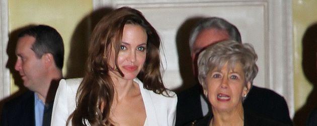 Angelina Jolie und Jane Pitt in New York