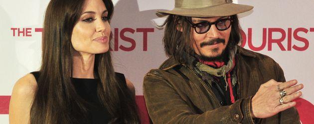 Angelina Jolie und Johnny Depp