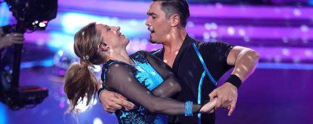 """Anni Friesinger und Erich Klann bei """"Let's Dance"""""""