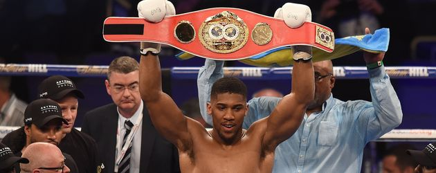 Anthony Joshua in London
