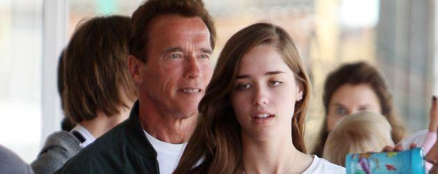 Arnold Schwarzenegger und Christina Schwarzenegger