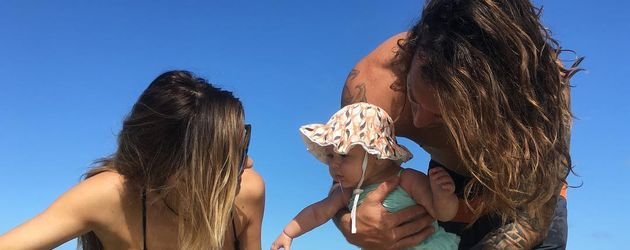 Audrina Patridge mit Töchterchen Kirra Max und Ehemann Corey Bohan