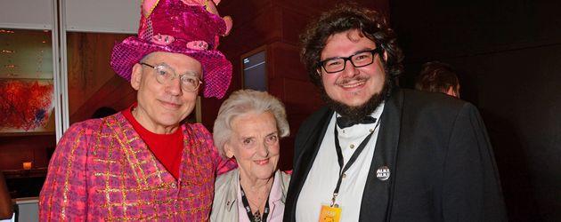 Rosa von Praunheim, Ruth Bickelhaupt und Axel Ranisch