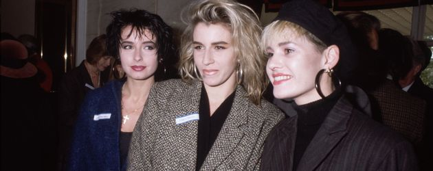 Die Girlband Bananarama in London 1985