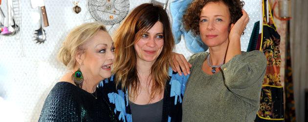 Claudia Eisinger, Barbara Schöne und Katja Riemann