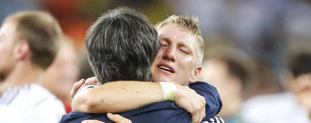 Joachim Löw und Bastian Schweinsteiger im WM-Finale 2014