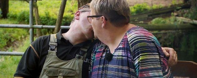 Bauer Berthold und Kandidatin Anja