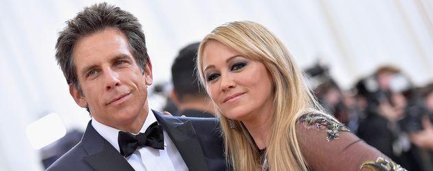 Ben Stiller und Christine Taylor im Mai 2016 bei der Met-Gala in New York