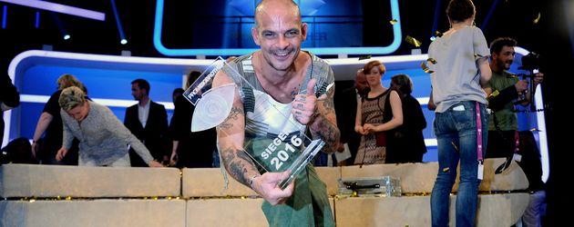 """Ben Tewaag, Sieger von """"Promi Big Brother"""" 2016"""