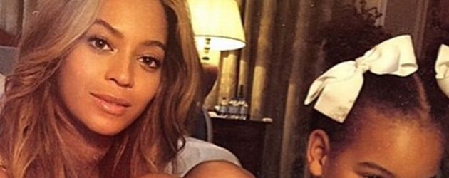 Beyoncé Knowles und Blue Ivy Carter