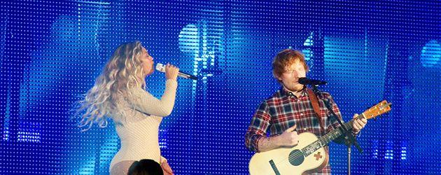 Beyonce und Ed Sheeran