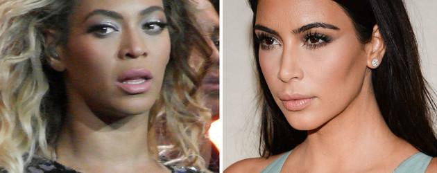 Kim Kardashian und Beyonce