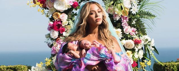 Beyoncé und ihre Zwillinge Sir Carter und Rumi