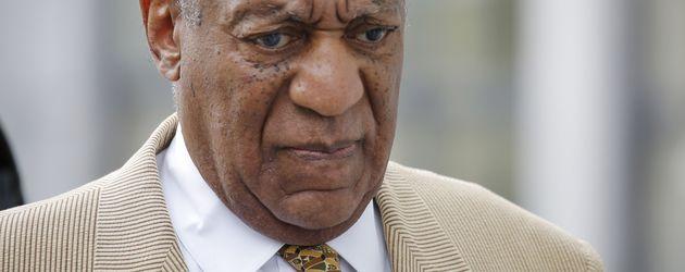 Comedian Bill Cosby während einer gerichtlichen Anhörung