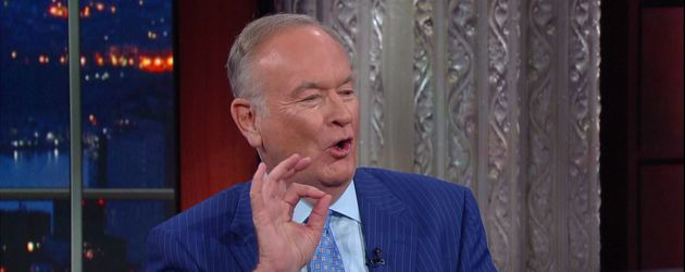 Bill O'Reilly bei CBS 'The Late Show with Stephen Colbert.'