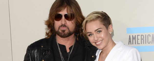 Billy Ray und Miley Cyrus in Los Angeles