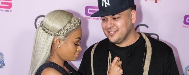 Blac Chyna und Rob Kardashian im Hard Rock Café in Hollywood