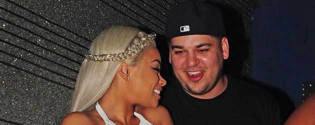 Blac Chyna und Rob Kardashian in Miami
