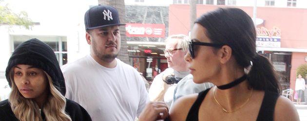 Blac Chyna, Kim Kardashian und Robert Kardashian