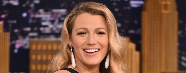 Blake Lively zu Gast in der TV-Show von Jimmy Fallon im Juli 2015