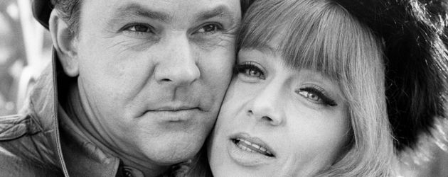 "Bob Crane und Nita Talbot in ""The Witness"""