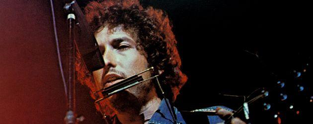 "Bob Dylan beim ""Concert for Bangladesh"" 1972"