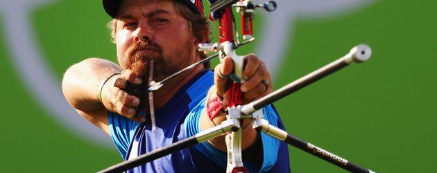 Bogenschütze Brady Ellison bei den Olympischen Spielen 2016