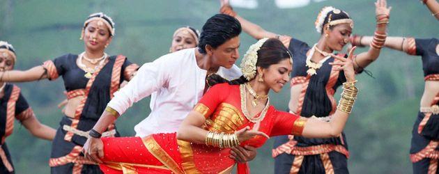 Shah Rukh Khan bei einer Bollywood-Tanzszene