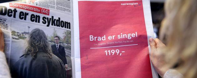 """""""Brad ist single""""-Werbung aus Norwegen"""