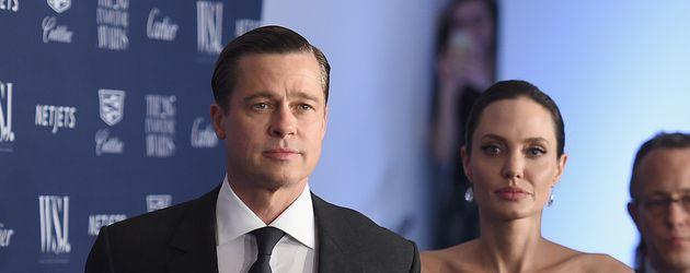 Brad Pitt und Angelina Jolie im November 2015 bei einer Preisverleihung in New York