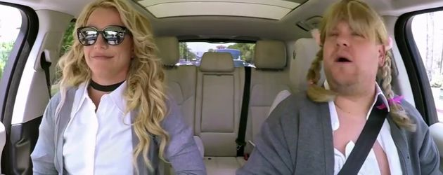 Britney Spears und James Corden