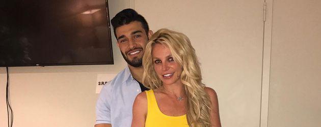 Sam Asghari und Britney Spears