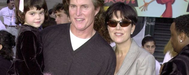 Bruce Jenner, Kris Jenner, Kylie Jenner und Kendall Jenner im Jahr 2000