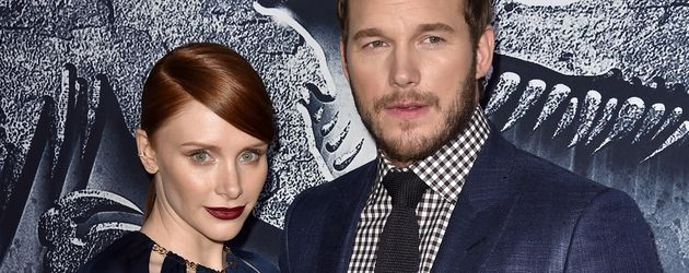 Chris Pratt und Bryce Howard
