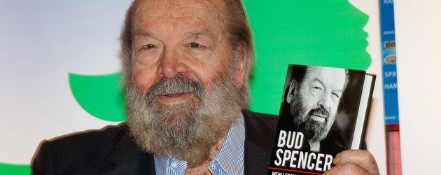 Bud Spencer bei der Veröffentlichung seiner Autobiografie
