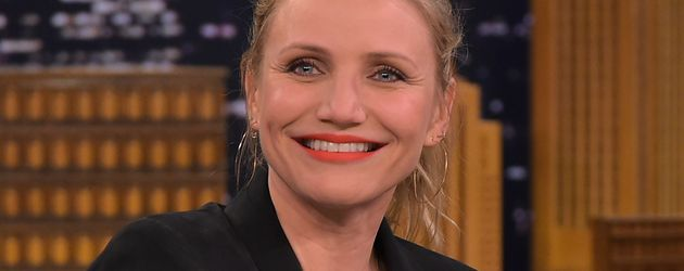 "Cameron Diaz bei der ""The Tonight Show"" von Jimmy Fallon"
