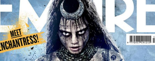 "Cara Delevingne als ""Enchantress"" auf dem Empire-Cover"