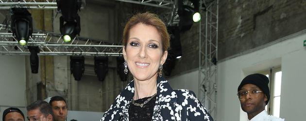 """Céline Dion bei der """"Giambattista Valli Haute Couture Show"""" auf der Fashion Week"""