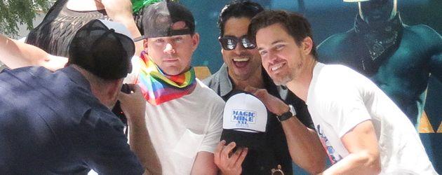 Channing Tatum, Matt Bomer und Alex Rodriguez