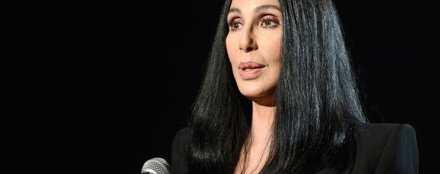 Schauspielerin und Sängerin Cher